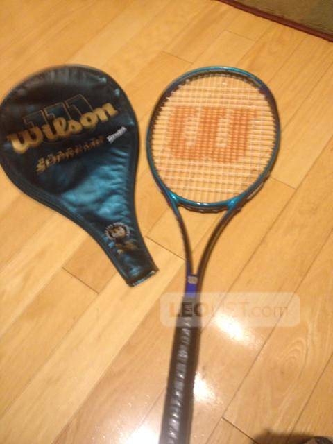 $45, TENNIS RACKET - WILSON GRAPHITE SUPREME STRETCH