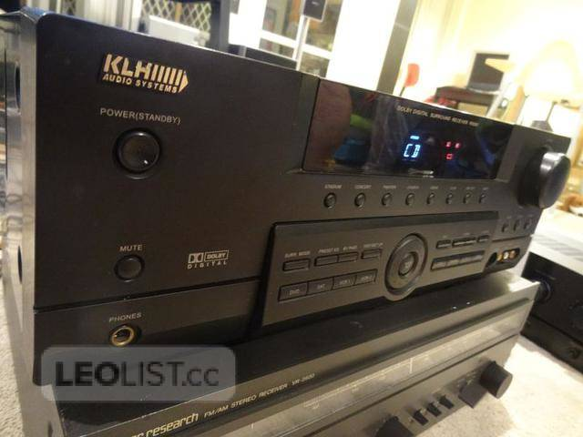 $75, KLH R5000 Surround Sound Receiver