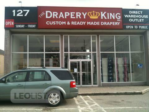 Ready made drapery You will love and curtain rods416-783-7373