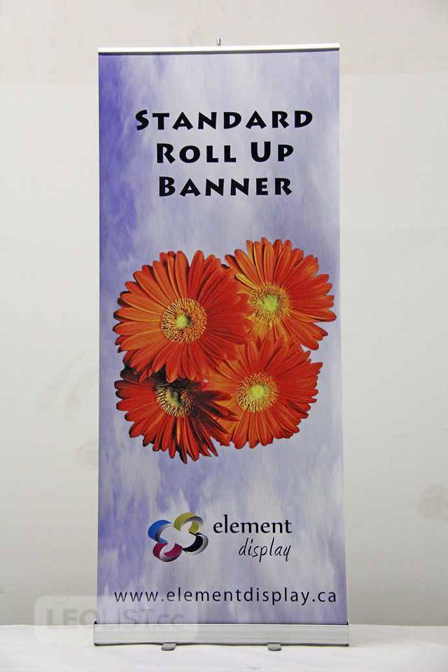 $79, Roll Up Banner Stand On Sale – as low as $79
