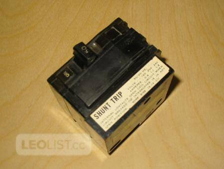 SQUARE D QO2501021 50 Amp, 2 Pole Miniature Circuit Breaker with Shunt Trip ~ Rare/New!