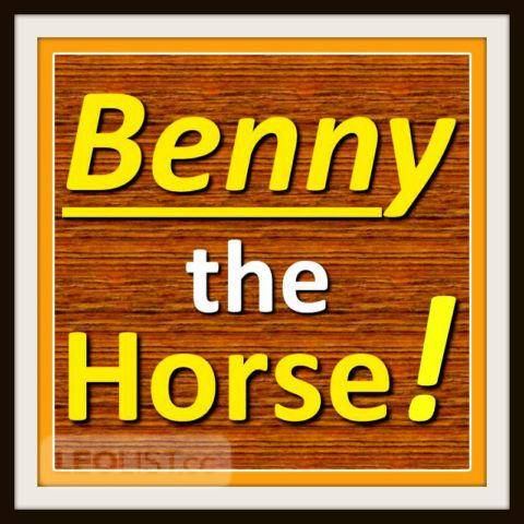 Max Mason says ➤ A horse named Benny ★ Strength ● Courage ● Trust  ● Self Confidence ➤