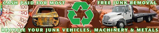 We Pay for Junk Vehicles - Free Truck Towing (604) 618 6383 MONEY NOW!