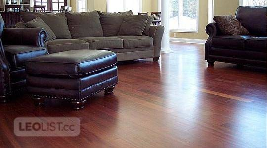 "Amazing Deal!! JATOBA Hardwood FLOOR starting $3.49!  Type: Prefinished Jatoba Size: 3.25""/4""/5""x 3/"