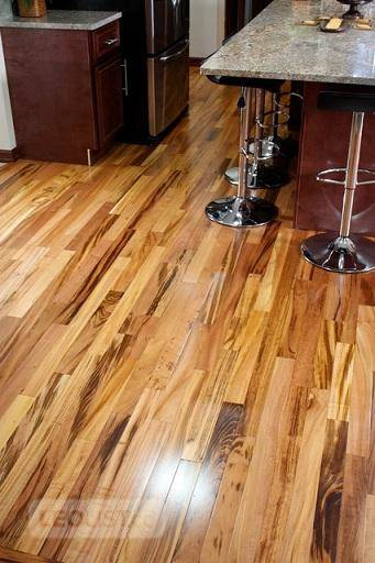 "SAVE BIG! PremiumTigerwood HardwoodFlooring starting $6.29/ft!  Size: 3.25""x 3/4""  Colour: Natural"