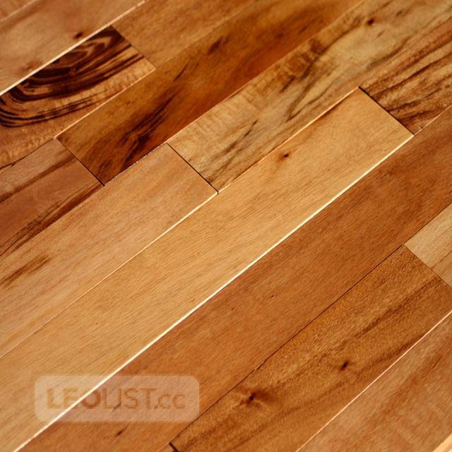"Clearance!!Prefinished Tigerwood 5""hardwood flooronly $3.79!! 	 TYPE: Prefinished TIGERWOOD 5"" x ¾"""