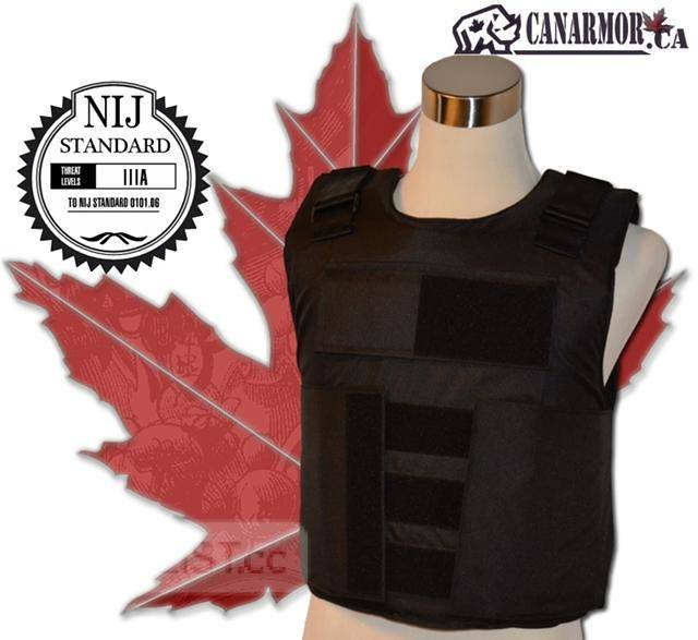 $399, NIJ III-A Stab & Bulletproof body armor vest+ WARRANTY-BRAND NEW at www.canarmor.ca
