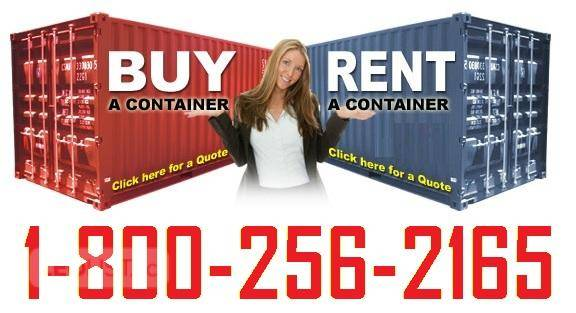 New or Used Steel Shipping Containers for Rent or Sale!!!