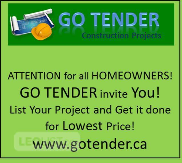 Attention HomeOwners and Contractors!