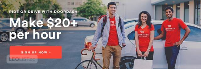 ✭ Deliver Food ✭ Earn Up To $150 Per Day ✭ DoorDash