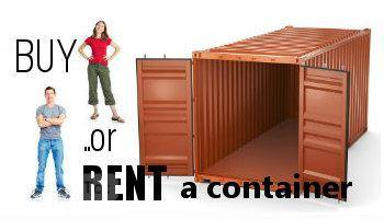RENT A CONTAINER for less than you may think, or buy one to renovate for your business!