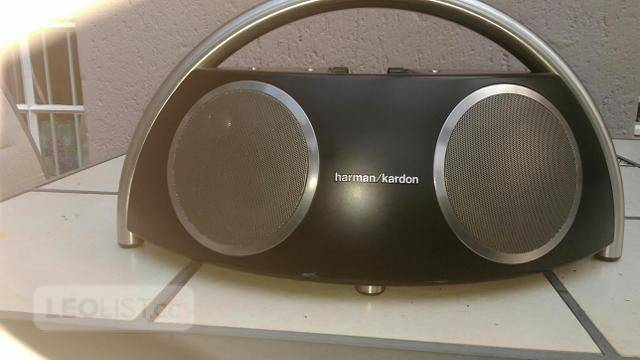 $250, Harman Kardon Go + Play Portable Speakers System with Dock for iPod (Black/Silver)  Rare!!!!!