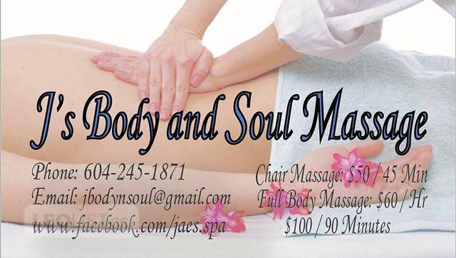 Relaxing Professional Massage