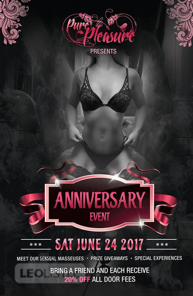 Pure Pleasure Spa Anniversary Event - SATURDAY JUNE 24, 2017