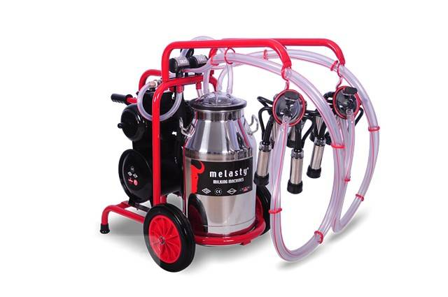 $999, Portable Milking Machines for Cows, Goats & Sheep