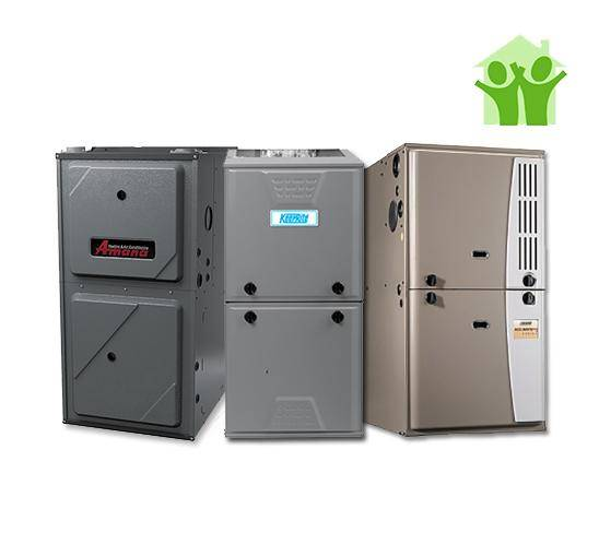 New High Efficiency Air Conditioner Furnace Rent to Own Buy Finance