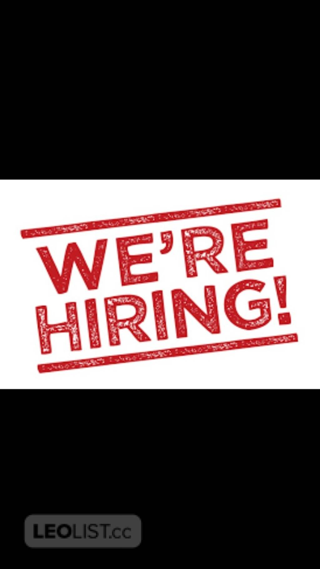 NOW HIRING Apply today to start work today  - 25