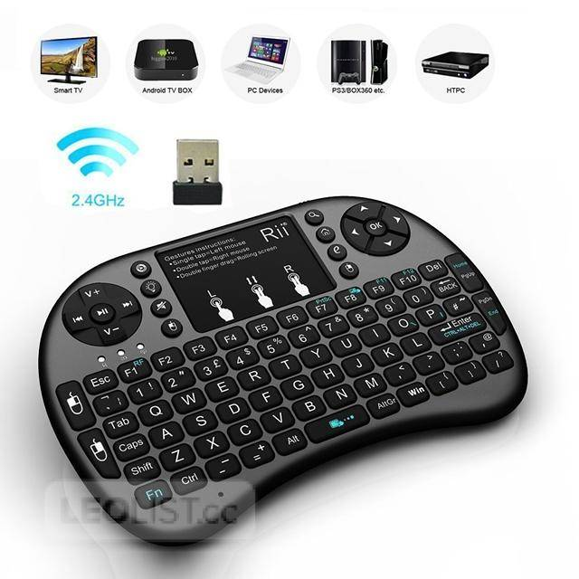 $20, Rii i8 Fly Air Mouse Mini Wireless Handheld Keyboard - New