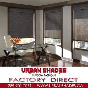 Open to public Window Blinds- Factory direct prices