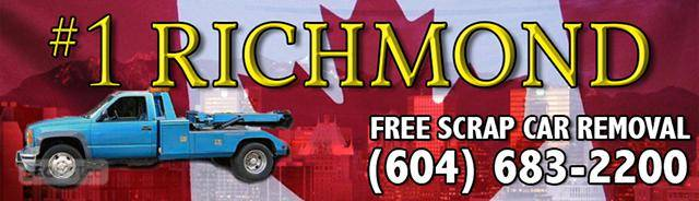 NEW WESTMINSTER / RICHMOND BC SCRAP CAR REMOVAL (604)683-2200 Cash for Junk Van & Truck