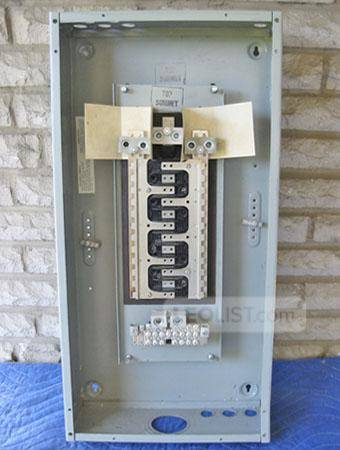 COMMANDER 200 Amp, 24 Circuit, 3 Phase, 120/208 Volt Panelboard Bus (Cat No. B-424200DL) ~ RARE!