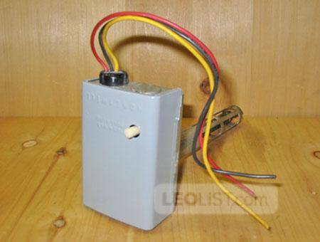 HONEYWELL L4064B 2533 Combination Fan and Limit Furnace Control Switch ~ RARE!