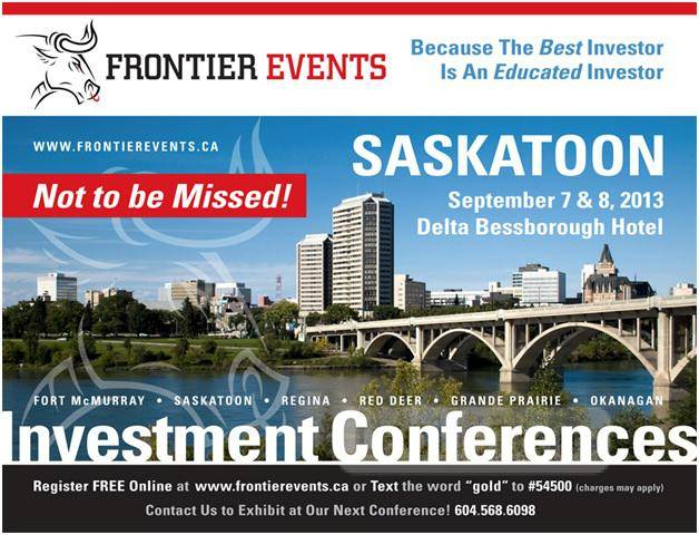 Delta Bessborough Investment Conference by Frontier Events Sept 7/8th