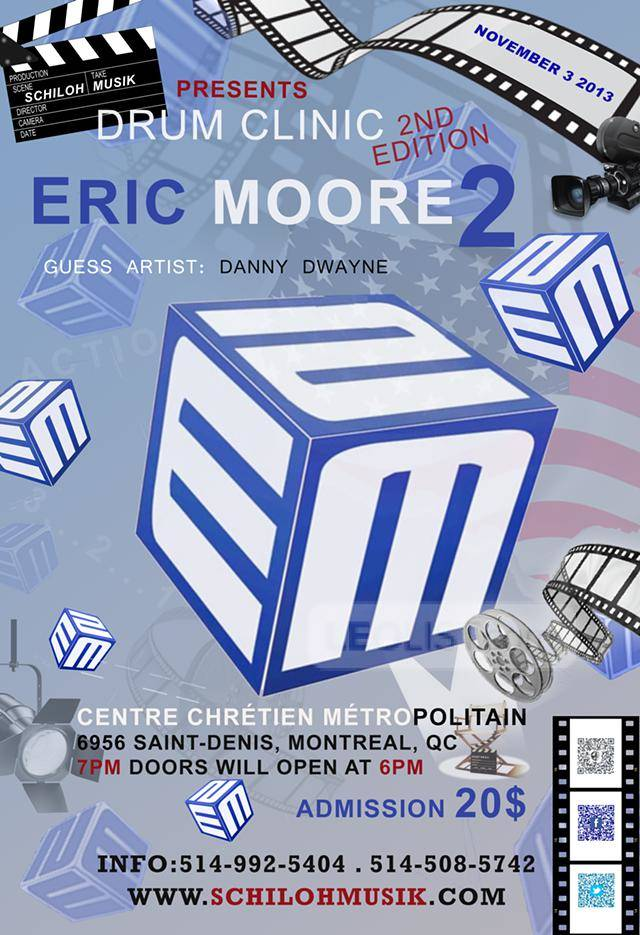 Drum Clinic 2nd Edition with Eric Moore 2