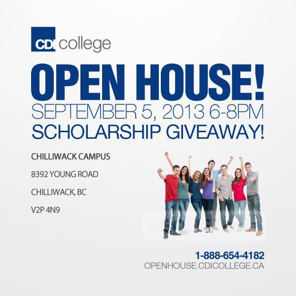 CDI College Open House in Chilliwack, BC