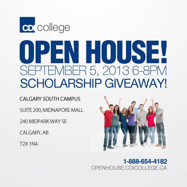 CDI College Open House in Calgary South, AB